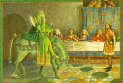 role of women in sir gawain and the green knight
