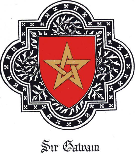 fabric and jewelery in sir gawain